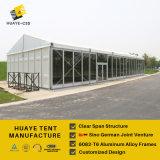Grande barraca com a parede contínua do ABS para eventos ao ar livre