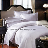 Conjunto mercerizado algodón del lecho de la materia textil del hotel del satén