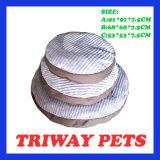 Amortiguador cómodo suave del perro de la pana (WY161086-1A/C)