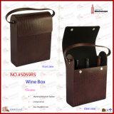 Коробка красного вина хорошего качества