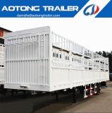 販売のための3台の半車軸記憶装置の家棒トラックのトレーラー