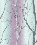 Venda quente papel de parede bonito natural personalizado das árvores