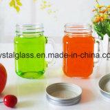 Geformtes Glasmaurer-Glas mit Griff