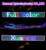 Contrassegno del tabellone per le affissioni del segno della visualizzazione di LED per la pubblicità dell'automobile dell'ufficio della memoria