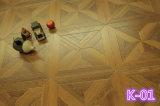 Настраиваемые толщиной 12мм ламината паркетный пол для домашних хозяйств