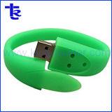 Настраиваемые резиновый ремешок из ПВХ пера USB Flash Drive браслет