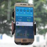 5W negro 10W Qi cargador inalámbrico de coche para iPhone, Samsung