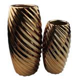 Grande Flowerpot domestico placcante di ceramica della decorazione del vaso