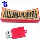 Пвх Настроенные на заводе флэш-памяти USB для компании Prmotional подарок