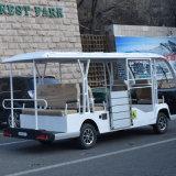 De Bus van het Sightseeing van het Elektrische voertuig van Zhongyi voor de Gebruiker van de Rolstoel