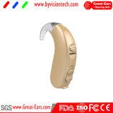 Amplificador de audífonos digitales para los ancianos con procesador digital de 2 canales y baterías de zinc-aire