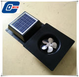 Batteriebetriebener Absaugventilator mit quadratischem Sonnenkollektor 10watt