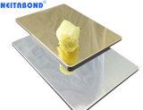 Пвдф Алюминиевый композитный пластик панели с помощью импорта поверхности наружного зеркала заднего вида