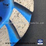 4 pouces de l'outil abrasif Turbo Type Cup Diamond meulage coupelles