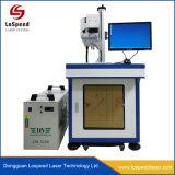 Sistema di stampa di cuoio del laser del CO2 della macchina per incidere di marchio nessuno sbiadisc