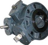 Stellzylinder-Drosselventil der Qualitäts-CPVC nicht für elektrischer u. pneumatischer Stellzylinder-Verbrauch