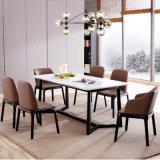 Restaurante Los muebles de madera MDF o de piedra de cuarzo Inicio mesa de comedor para el hogar