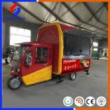 Livraison rapide de qualité supérieure mobile Electric Motorcycle panier alimentaire/camion alimentaire