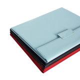 Envelope A4 Organizador de arquivos na pasta do portfólio de couro