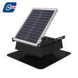 25W 12V recargable, Ventilador de refrigeración en el ático Solar con batería de almacenamiento