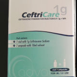 Ceftriaxone Sodium (1gram) Powder for Injection