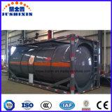 recipiente líquido venenoso corrosivo químico do tanque 24000L com ISO Csc