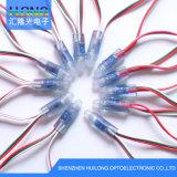 Exposy IC1903 LEDピクセルストリングライトDC5V 0.3Wは防水する