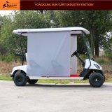 Carro de golfe elétrico do passageiro da boa qualidade 4 com máscara de Sun
