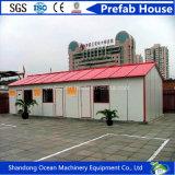 판매를 위한 가벼운 강철 프레임 싼 Prefabricated 집