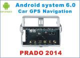 Nouvelle navigation de voiture Ui Android 6.0 pour Toyota Prado 2014 avec lecteur DVD de voiture