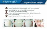 Eponge 100% Natural Konjac pour le nettoyage du bain