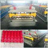 Mattonelle d'acciaio galvanizzate automatiche che formano macchina