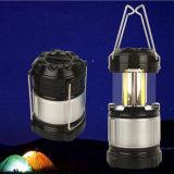 Gy55 COB Solar Linterna de camping para móviles cargando