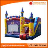 膨脹可能なおもちゃのスライド(T3113)が付いている跳躍の警備員の城