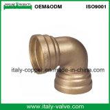 Haute pression coude du tuyau de Bronze OEM (AV-QT-1028)