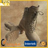 Ботинок пустыни ботинка безопасности Mens верхнего качества кожи коровы замши воинский тактический