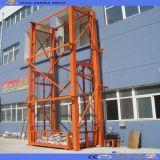 静止した油圧縦の倉庫の物質的な上昇のプラットホーム