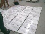 Telhas de mármore brancas de Volakas da laje de mármore branca barata de Chinsese