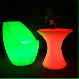 Voyant lumineux table cocktail light up mobilier