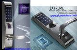 Serrure de porte d'empreintes digitales biométriques de sécurité pour la maison