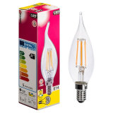 Luz da vela do diodo emissor de luz de Dimmable E14 4W do candelabro