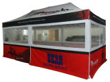 Promoção de exposições Gazebo impermeável 4X8m Pop up Tenda dobrável de alumínio