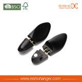 Arbre de chaussures en bois noir de luxe pour chaussures