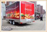 Furgonetas del alimento de la alta calidad de Ys-Fv390h para los acoplados del abastecimiento de la venta para la venta