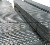 Grating van het Staal van de Bevloering van de Loopbrug van de fabriek Hete Ondergedompelde Gegalvaniseerde Plaat