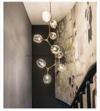 Retro europäisches Art-hängende Lampen-kreatives einfaches modernes Glasleuchter-Wohnzimmer