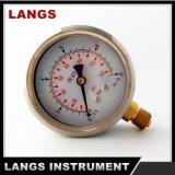 """070A anillo rodante de la fábrica 2.5 """" y calibrador de presión interno de cobre amarillo"""