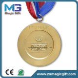 Medaglia di oro in bianco personalizzata
