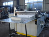 Feuille de papier rouleau Jumbo avec table de machine de découpe de récepteur