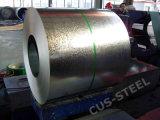 Placa de acero galvanizado recubierto de zinc/bobinas de acero galvanizado